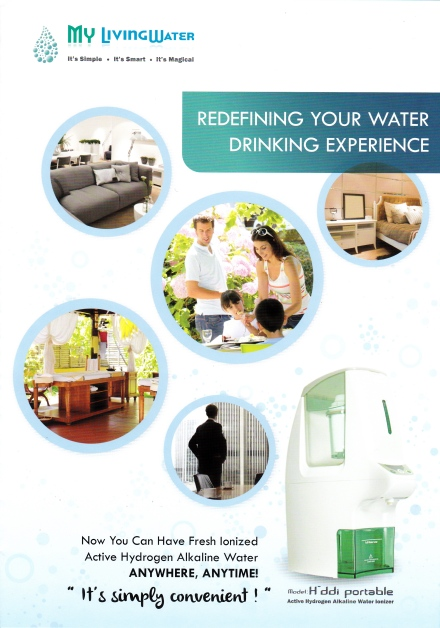 Copywriting of Brochure for My Living Water | Inspiration Reach